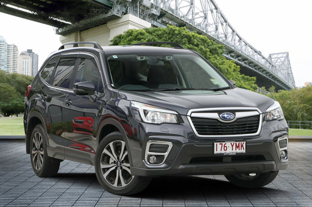 Demo Subaru Forester S5 MY19 2.5i Premium CVT AWD, 2018 Subaru Forester S5 MY19 2.5i Premium CVT AWD Dark Grey 7 Speed Constant Variable Wagon