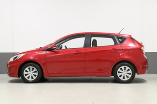 2017 Hyundai Accent RB4 MY17 Active Veloster Red 6 Speed CVT Auto Sequential Hatchback