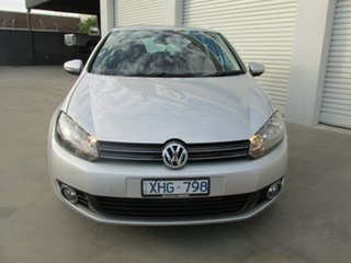 2009 Volkswagen Golf VI 103TDI DSG Comfortline Silver 6 Speed Sports Automatic Dual Clutch Hatchback.