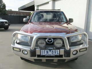 2009 Mazda BT-50 UNY0E4 DX+ Freestyle 4x2 Copper Red 5 Speed Manual Cab Chassis.
