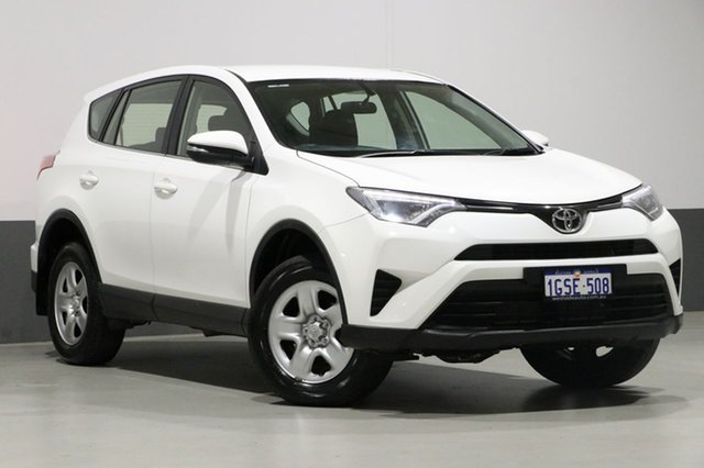 Used Toyota RAV4 ASA44R MY17 GX (4x4), 2017 Toyota RAV4 ASA44R MY17 GX (4x4) White 6 Speed Automatic Wagon