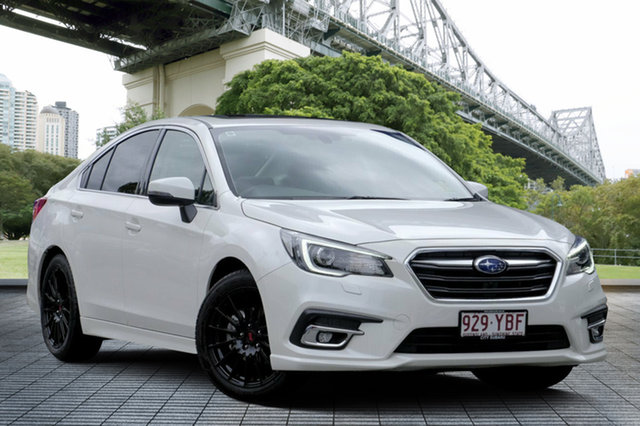 Demo Subaru Liberty B6 MY18 2.5i CVT AWD Premium, 2017 Subaru Liberty B6 MY18 2.5i CVT AWD Premium White Crystal 6 Speed Constant Variable Sedan