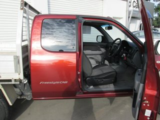 2009 Mazda BT-50 UNY0E4 DX+ Freestyle 4x2 Copper Red 5 Speed Manual Cab Chassis