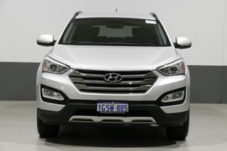 2014 Hyundai Santa Fe DM Elite CRDi (4x4) Silver 6 Speed Automatic Wagon.