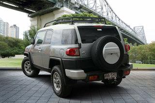 2012 Toyota FJ Cruiser GSJ15R Grey 5 Speed Automatic Wagon.