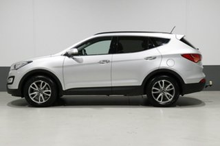 2014 Hyundai Santa Fe DM Elite CRDi (4x4) Silver 6 Speed Automatic Wagon