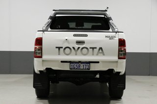 2015 Toyota Hilux KUN26R MY14 SR5 (4x4) White 5 Speed Automatic Dual Cab Pick-up