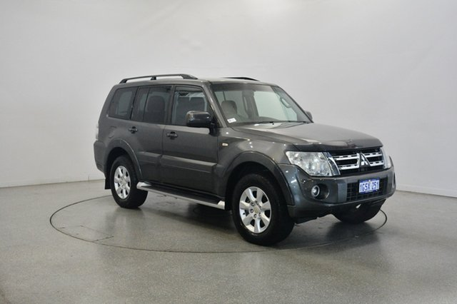 Used Mitsubishi Pajero NW MY12 GLS, 2012 Mitsubishi Pajero NW MY12 GLS Graphite 5 Speed Sports Automatic Wagon