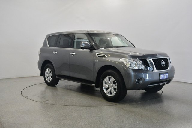 Used Nissan Patrol Y62 Series 3 TI, 2016 Nissan Patrol Y62 Series 3 TI Grey 7 Speed Sports Automatic Wagon