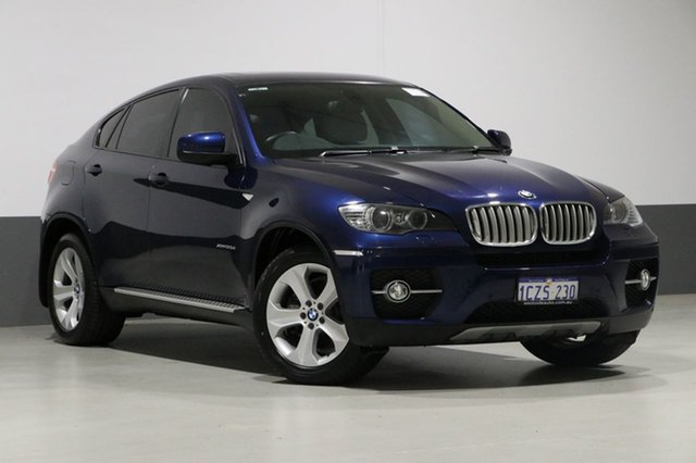 Used BMW X6 E71 xDrive 35D, 2009 BMW X6 E71 xDrive 35D Blue 6 Speed Automatic Coupe