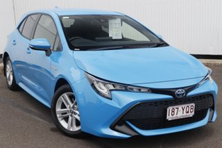 2018 Toyota Corolla ZWE211R Ascent Sport E-CVT Hybrid Eclectic Blue 10 Speed Constant Variable.
