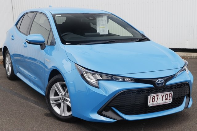Demo Toyota Corolla ZWE211R Ascent Sport E-CVT Hybrid, 2018 Toyota Corolla ZWE211R Ascent Sport E-CVT Hybrid Eclectic Blue 10 Speed Constant Variable