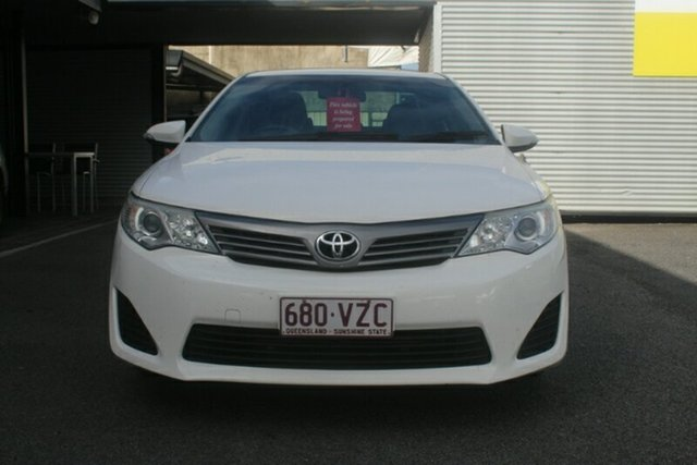 Used Toyota Camry ASV50R Altise, 2012 Toyota Camry ASV50R Altise White 6 Speed Sports Automatic Sedan
