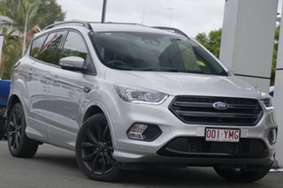 2018 Ford Escape ZG 2018.75MY ST-Line AWD Moondust Silver 6 Speed Sports Automatic Wagon.
