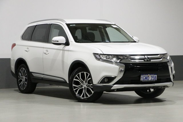 Used Mitsubishi Outlander ZL MY18.5 LS 7 Seat (AWD), 2018 Mitsubishi Outlander ZL MY18.5 LS 7 Seat (AWD) Starlight Continuous Variable Wagon