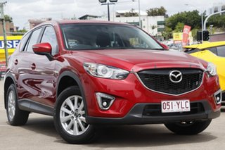 2014 Mazda CX-5 KE1071 MY14 Maxx SKYACTIV-MT Soul Red 6 Speed Manual Wagon.