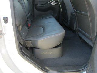 2012 Nissan Navara D40 S5 MY12 ST-X 550 Silver 7 Speed Sports Automatic Utility