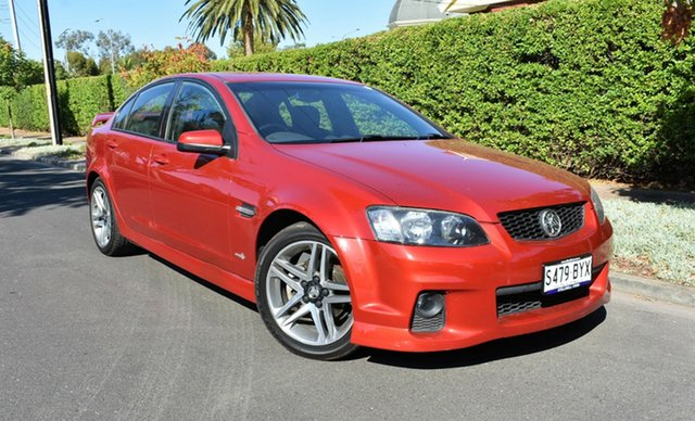 Used Holden Commodore VE II SV6, 2010 Holden Commodore VE II SV6 Red 6 Speed Sports Automatic Sedan