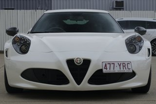 2015 Alfa Romeo 4C Launch Edition TCT White 6 Speed Sports Automatic Dual Clutch Coupe