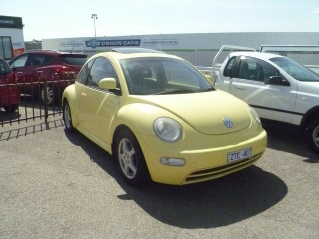 Used Volkswagen Beetle 9C Coupe, 2000 Volkswagen Beetle 9C Coupe Yellow 4 Speed Automatic Liftback