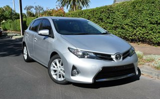 2013 Toyota Corolla ZRE182R Ascent Sport S-CVT Silver 7 Speed Constant Variable Hatchback.