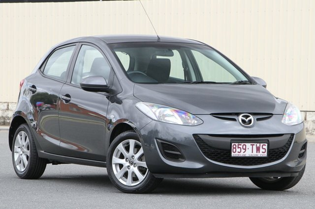 Used Mazda 2 DE10Y2 MY14 Neo Sport, 2013 Mazda 2 DE10Y2 MY14 Neo Sport Meteor Grey 5 Speed Manual Hatchback