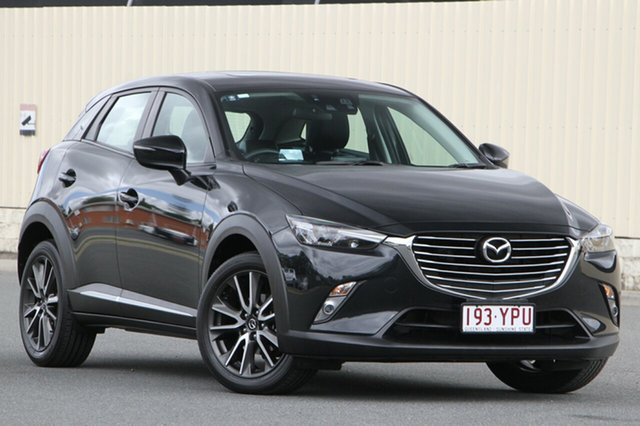 Used Mazda CX-3 DK4W7A Akari SKYACTIV-Drive i-ACTIV AWD, 2016 Mazda CX-3 DK4W7A Akari SKYACTIV-Drive i-ACTIV AWD Black 6 Speed Sports Automatic Wagon