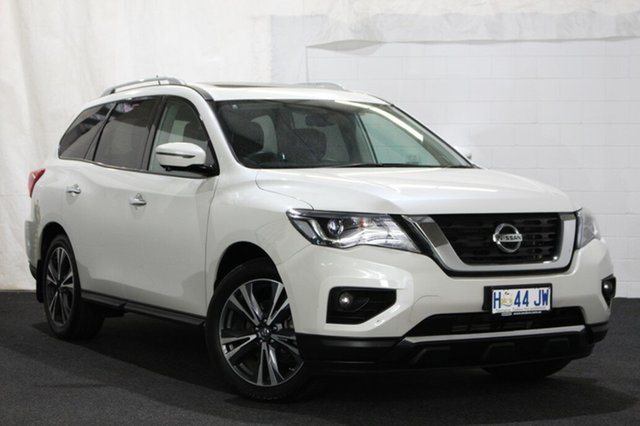 Used Nissan Pathfinder R52 Series II MY17 Ti X-tronic 4WD, 2017 Nissan Pathfinder R52 Series II MY17 Ti X-tronic 4WD Ivory Pearl 1 Speed Constant Variable