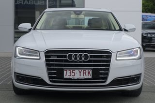 2014 Audi A8 4H MY15 Tiptronic Quattro White 8 Speed Sports Automatic Sedan