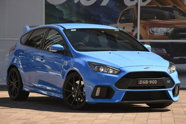 Demo Ford Focus LZ RS AWD, 2017 Ford Focus LZ RS AWD Nitro 6 Speed Manual Hatchback