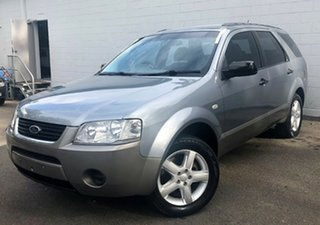2005 Ford Territory SX TS Metallic Grey 4 Speed Sports Automatic Wagon.
