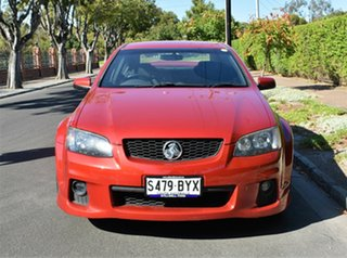 2010 Holden Commodore VE II SV6 Red 6 Speed Sports Automatic Sedan