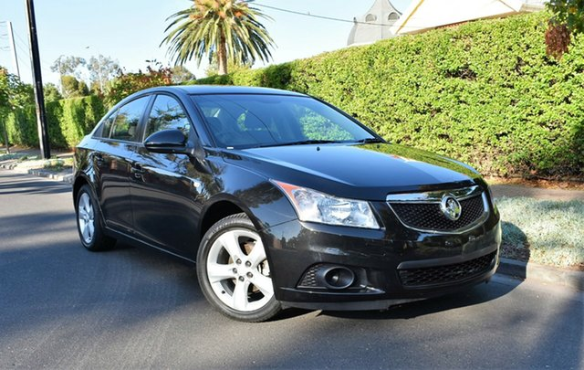 Used Holden Cruze JH Series II MY12 CD, 2011 Holden Cruze JH Series II MY12 CD Black 6 Speed Sports Automatic Sedan