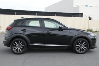 2016 Mazda CX-3 DK4W7A Akari SKYACTIV-Drive i-ACTIV AWD Black 6 Speed Sports Automatic Wagon.