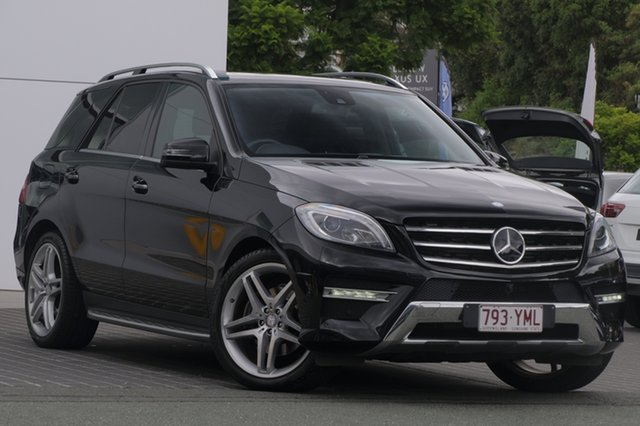 Used Mercedes-Benz ML350 W166 BlueTEC 7G-Tronic +, 2013 Mercedes-Benz ML350 W166 BlueTEC 7G-Tronic + Black 7 Speed Sports Automatic Wagon