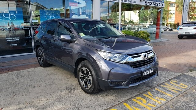 Used Honda CR-V RW MY18 Vi FWD, 2018 Honda CR-V RW MY18 Vi FWD Grey 1 Speed Constant Variable Wagon