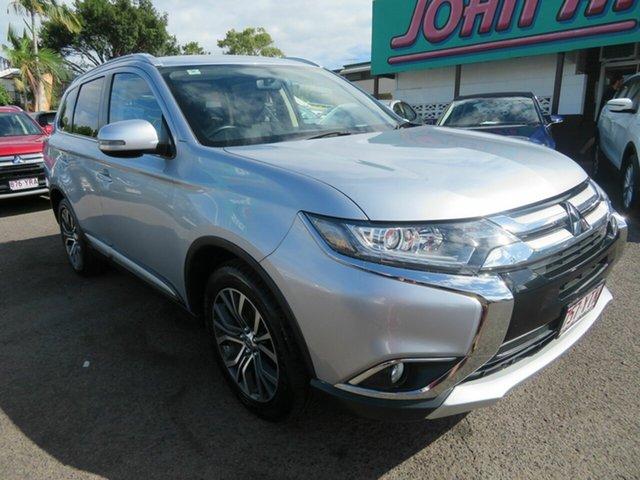 Used Mitsubishi Outlander ZK MY17 LS 2WD, 2017 Mitsubishi Outlander ZK MY17 LS 2WD Silver 6 Speed Constant Variable Wagon