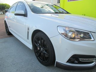 2013 Holden Commodore VF MY14 SS V Redline White 6 Speed Manual Sedan