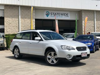 2005 Subaru Outback B4A MY06 Premium Pack D/Range AWD White 5 Speed Manual Wagon