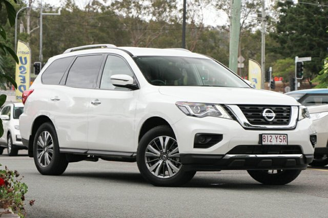 Demo Nissan Pathfinder R52 Series II MY17 ST X-tronic 2WD, 2018 Nissan Pathfinder R52 Series II MY17 ST X-tronic 2WD Ivory Pearl 1 Speed Constant Variable