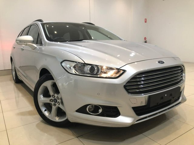 Used Ford Mondeo MD 2017.50MY Trend PwrShift, 2017 Ford Mondeo MD 2017.50MY Trend PwrShift Silver 6 Speed Sports Automatic Dual Clutch Wagon