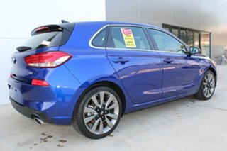 2018 Hyundai i30 SR Intense Blue 7 Speed Automatic Hatchback.