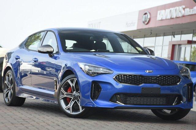 New Kia Stinger CK MY19 GT Fastback, 2019 Kia Stinger CK MY19 GT Fastback Micro Blue 8 Speed Sports Automatic Sedan