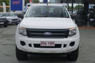 2015 Ford Ranger PX XL Double Cab White 6 Speed Sports Automatic Cab Chassis