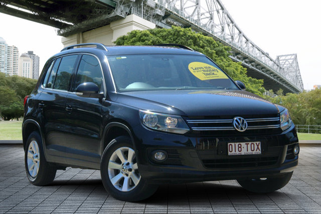 Used Volkswagen Tiguan 5N MY14 132TSI DSG 4MOTION Pacific, 2013 Volkswagen Tiguan 5N MY14 132TSI DSG 4MOTION Pacific Blue 7 Speed Sports Automatic Dual Clutch