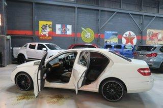 2010 Mercedes-Benz E220 W212 BlueEFFICIENCY Elegance White 5 Speed Sports Automatic Sedan