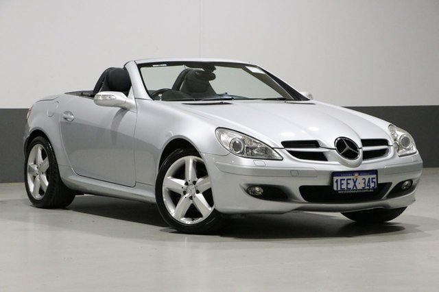 Used Mercedes-Benz SLK280 R171 , 2005 Mercedes-Benz SLK280 R171 Silver 7 Speed Automatic G-Tronic Convertible