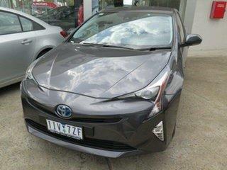 2016 Toyota Prius ZVW50R I-Tech Graphite 1 Speed Constant Variable Liftback Hybrid.