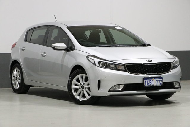 Used Kia Cerato YD MY16 S, 2016 Kia Cerato YD MY16 S Silver 6 Speed Automatic Hatchback