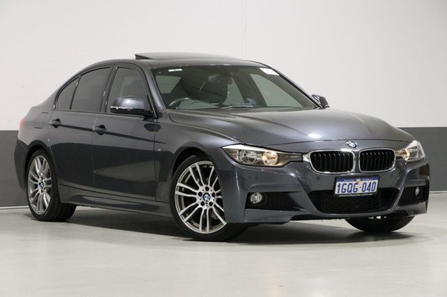 Used BMW 320i F30 , 2013 BMW 320i F30 Grey 8 Speed Automatic Sedan